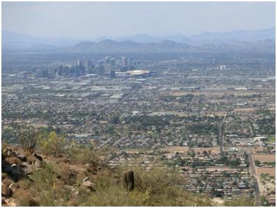 Blick auf Phoenix