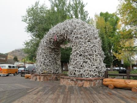 Antler Arch in Jackson