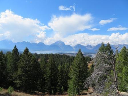 Blick vom Signal Mountain