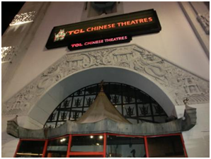 Chinese Theatre auf dem Hollywood Boulevard