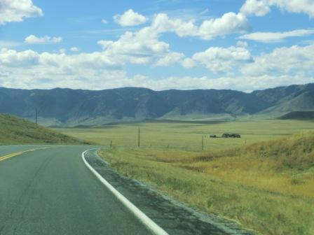 Fahrt durch die Great Plains