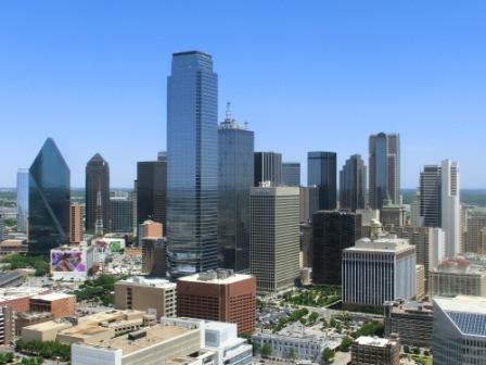 Ausblick vom Reunion Tower