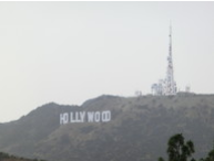 Hollywood Sign vom Griffith Observatory