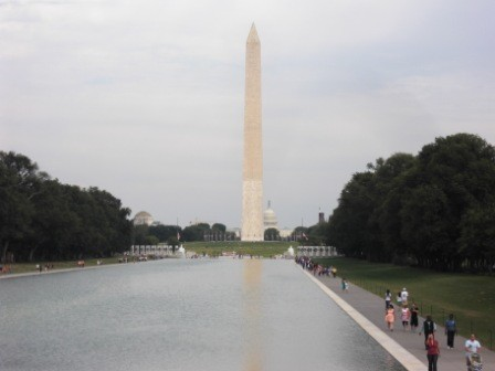 Reflecting Pool und Washington Monument