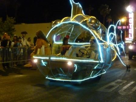 Tiefseefisch-Wagen