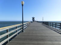 Pier am Seal Beach