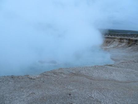 Nebel am Midway Geyser Level