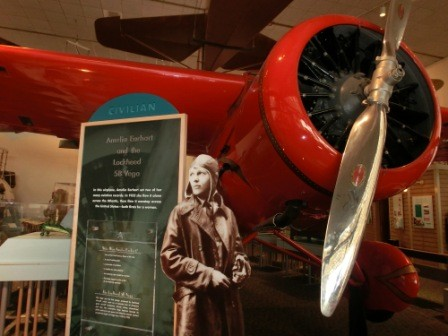 Amelia Earhart - Air and Space Museum