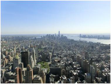 Manhattan - Blick aus dem 86. Stock des ESP