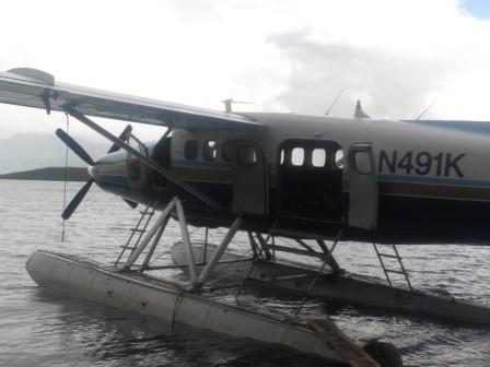 Wasserflugzeug von Katmai Air
