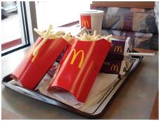 Mc Donalds Menü