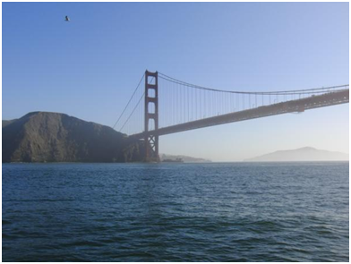 Golden Gate Bridge - leicht neblig