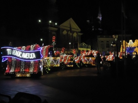 Star Spangled Banner & Eagle - Electrical Parade