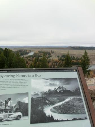 Snake River Overlook - Wo ist der Berg?