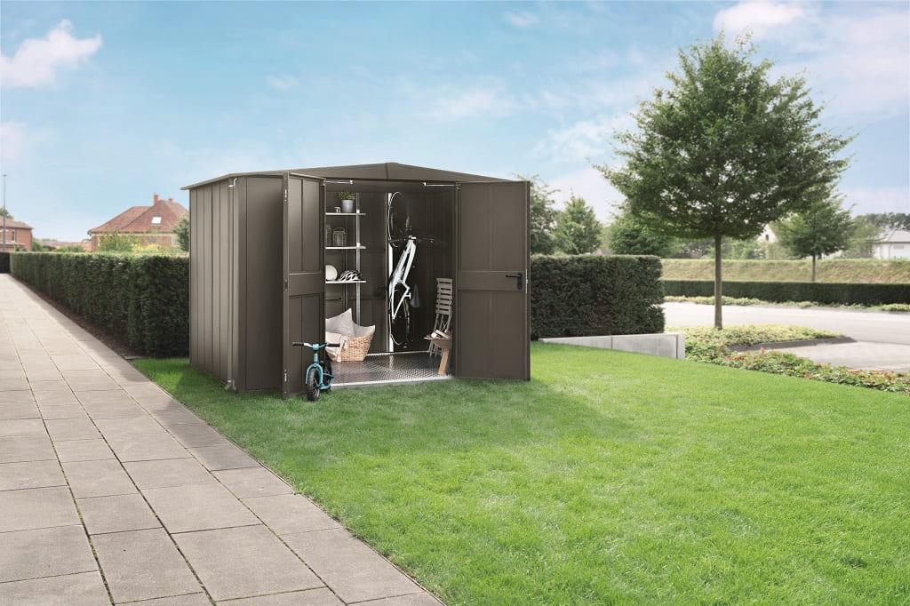 Entdecken Sie unsere HÖRMANN Gerätehäuser für Ihren Garten