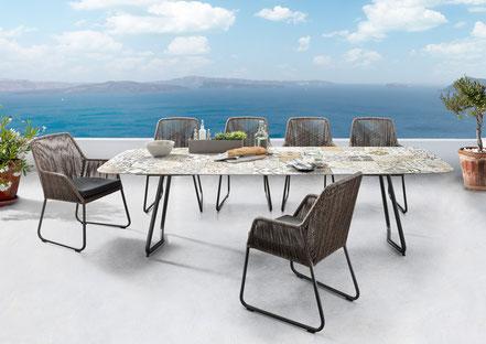 Tischplatte Outdoor Modern