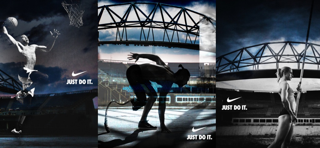 Типичная реклама Nike