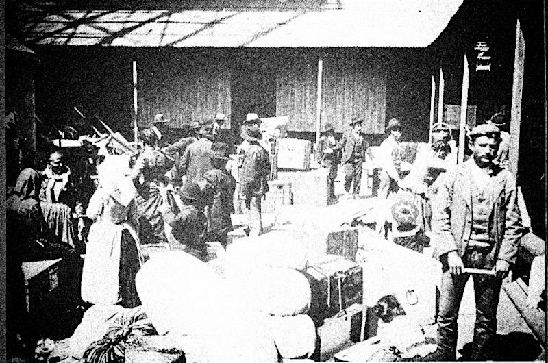 Буэнос-Айрес, 1904. Прибытие мигрантов