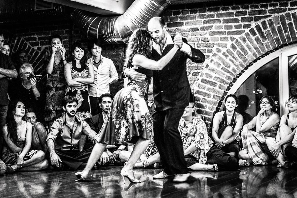 """Juan Capriotti и Graciana Romeo. Фестиваль """"Невская милонга"""" 2013"""