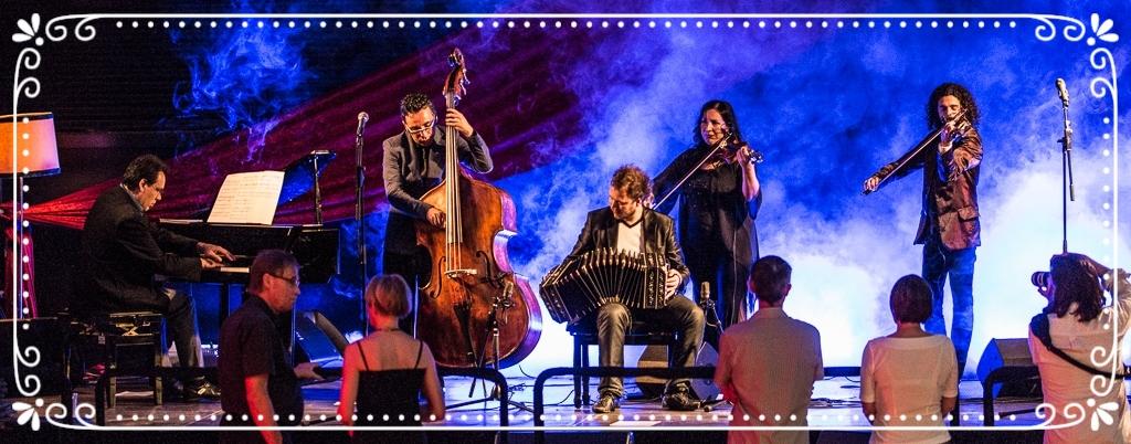 Выступление танго оркестра Sexteto Milonguero на фестивале Copengagen Tango Fest 2013