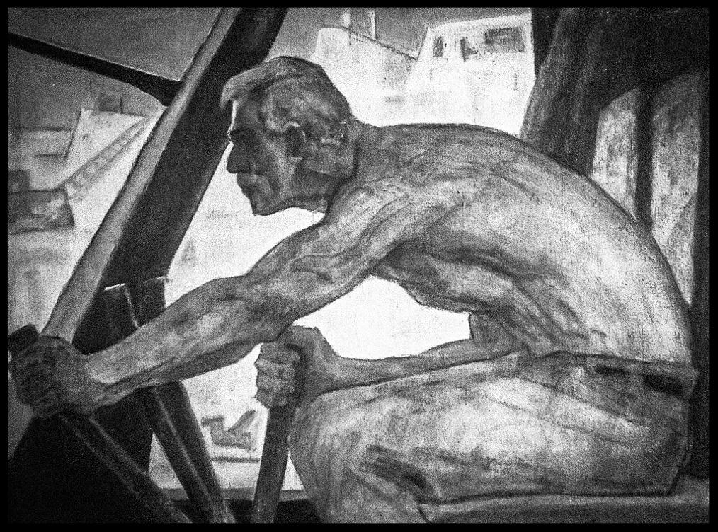 Аникеев М. К. Экскаваторщик 1959г.