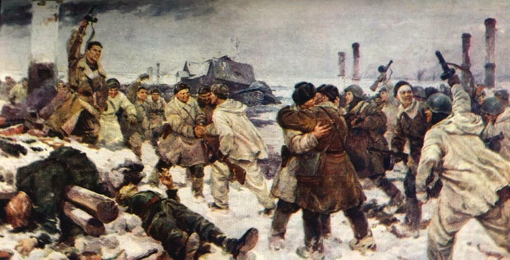 Серов Вл.А., Серебряный И.А., Казанцев А.А. Прорыв блокады 18 января 1943 года. 1943