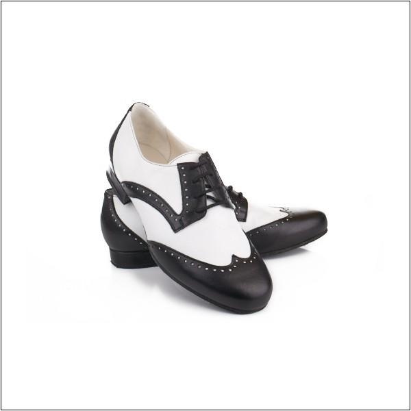 Туфли Madame Pivot (Derby Oxford (классич.туфли черная кожа/белая кожа). Цена 11.600 р.