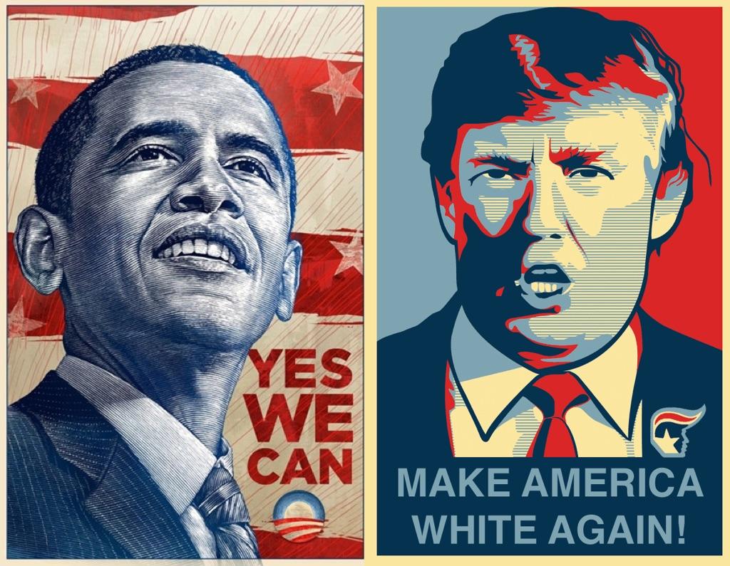Типичная политическая реклама: можем - не можем / прекрасная - ужасная