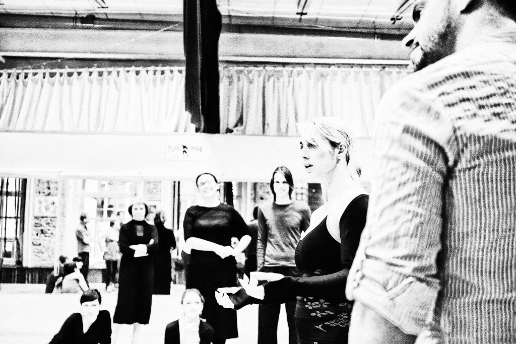 Москва. Планетанго. На семинаре Alejandra Mantinan & Leandro Palou (17.04.2013)