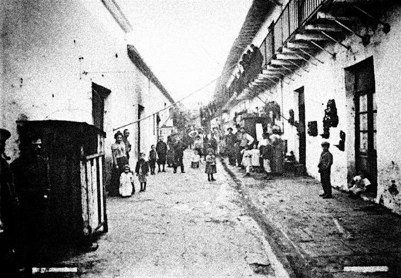 Буэнос-Айрес (Conventillo), 1900-1905. Бедные районы, где рождалось танго