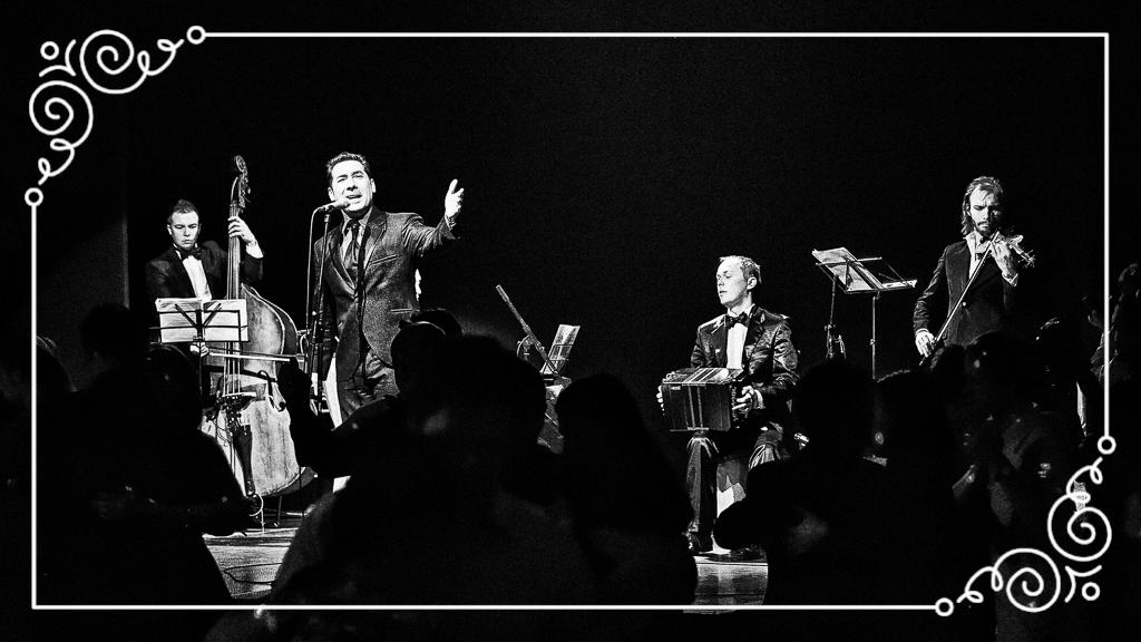 Концерт Ariel Ardit и Solo Tango Orquesta на фестивале Va Mos Paris - 2012