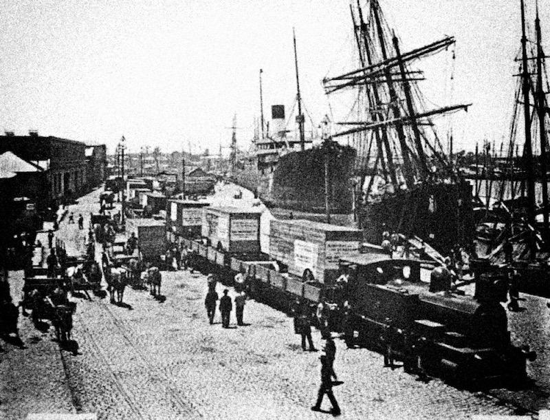 Буэнос-Айрес, 1915. Порт