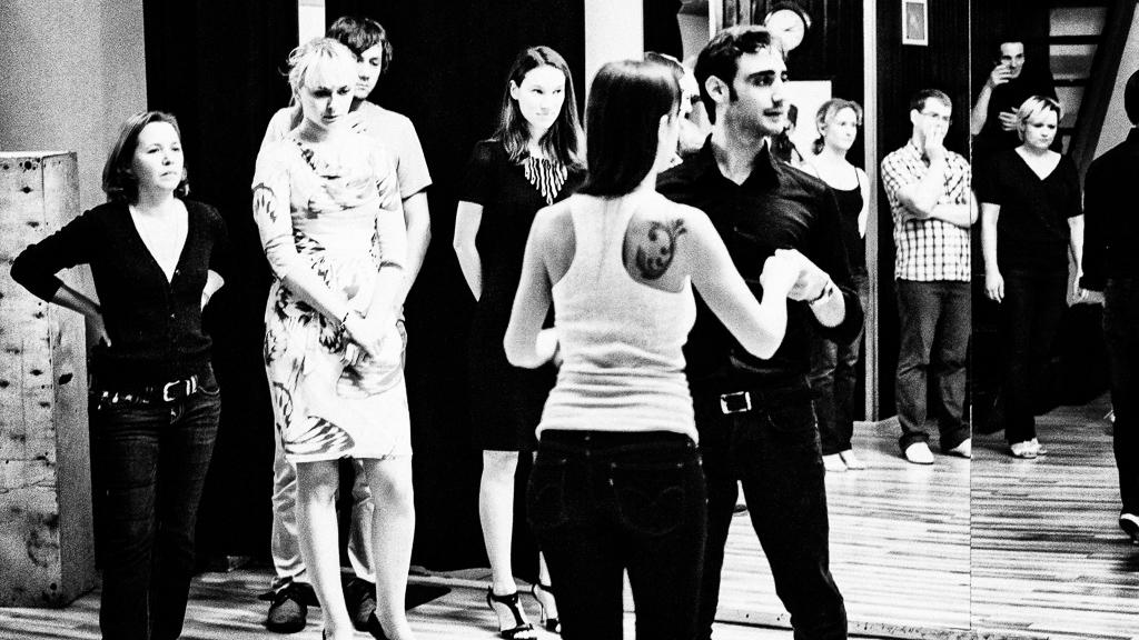 Москва. Семинары в школе еТанго. Fausto Carpino & Stephanie Fesneau (2013)