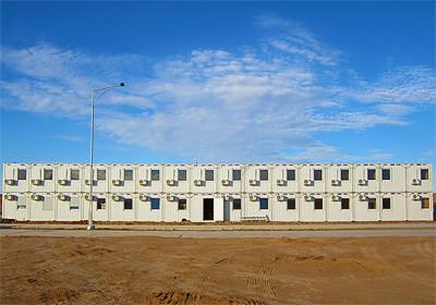 Фасад модульного здания
