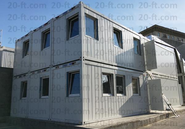 Штаб строительства containex