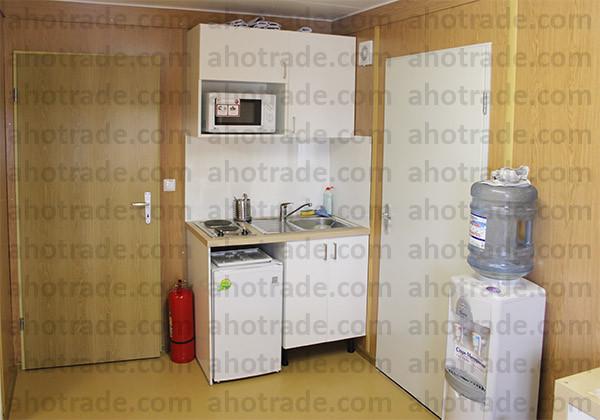 Мини-кухня в блок-модуле