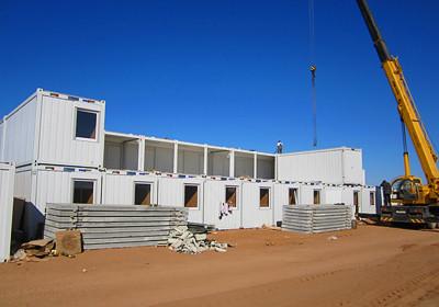 Сборка вахтового поселка Containex