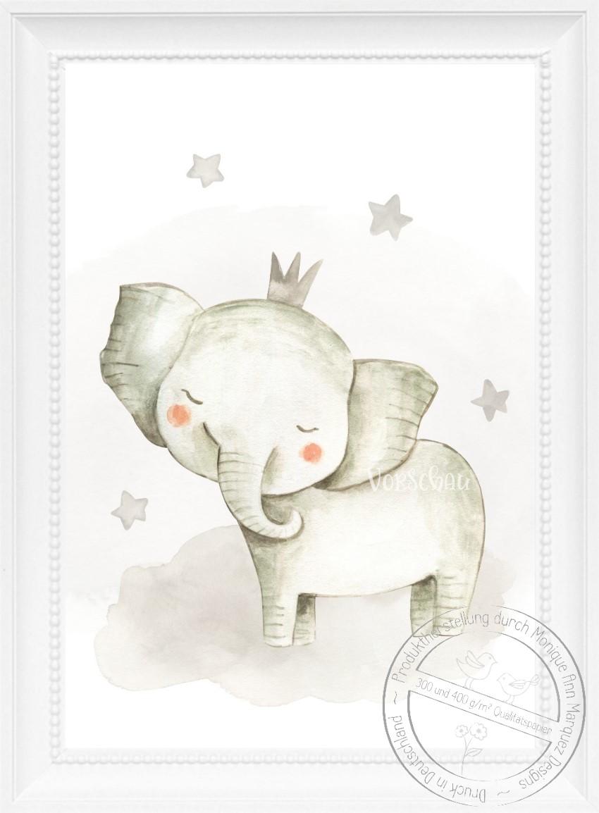 Kinderzimmer Bilder Set Babyzimmer Tiere Bilder Kinder Poster Din A4