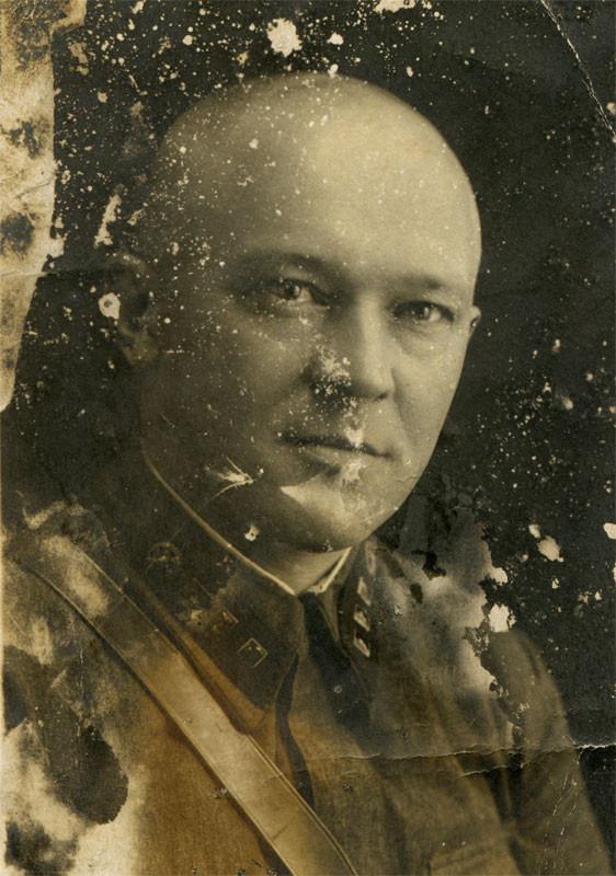 Анисим Прокопьевич Гришмановский. Фото 1938г. Уроженец деревни Мацково.