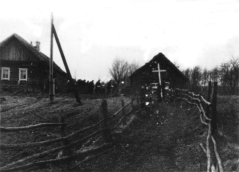 Похороны в Кицково. 1960-е гг. Фото Л.Т.Перепеча