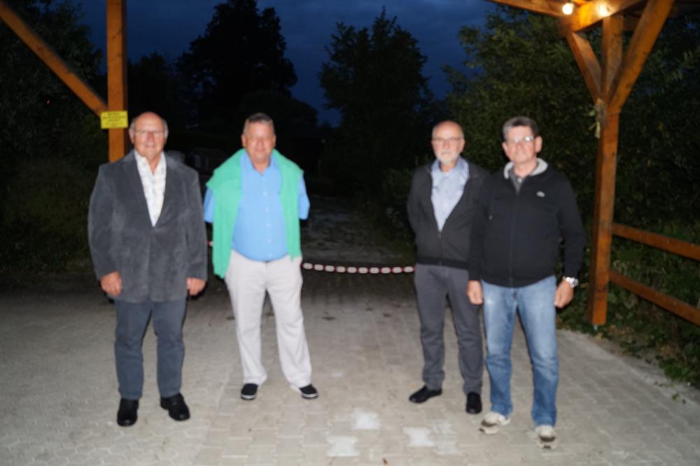Herbert Reuter, Martin Strauß, Roland Stroebel, Wolfgang Wiedmann