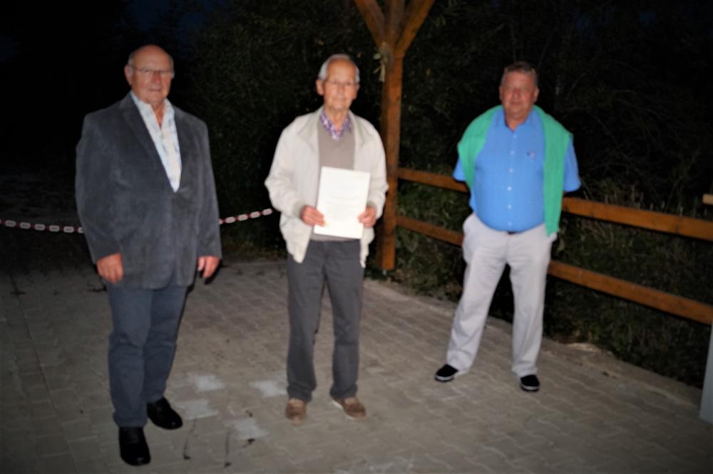 Herbert Reuter, Alfred Schaßberger, Martin Strauß