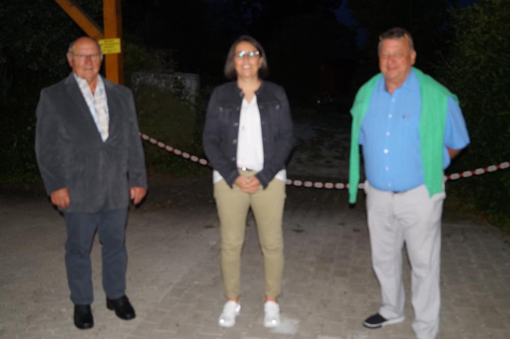Herbert Reuter, Andrea Zeissler, Martin Strauß