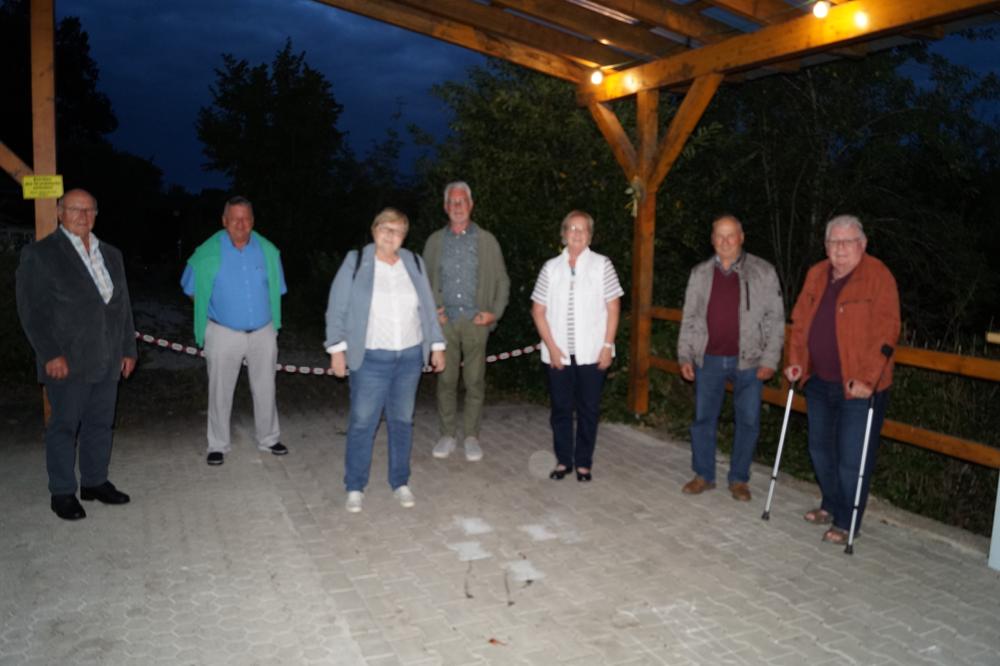 Herbert Reuter, Martin Strauß, Hannelore Mayer, Manfred Lietzenmayer, Maria Watzl, Pius Weingart, Winfried Jaroschinsky