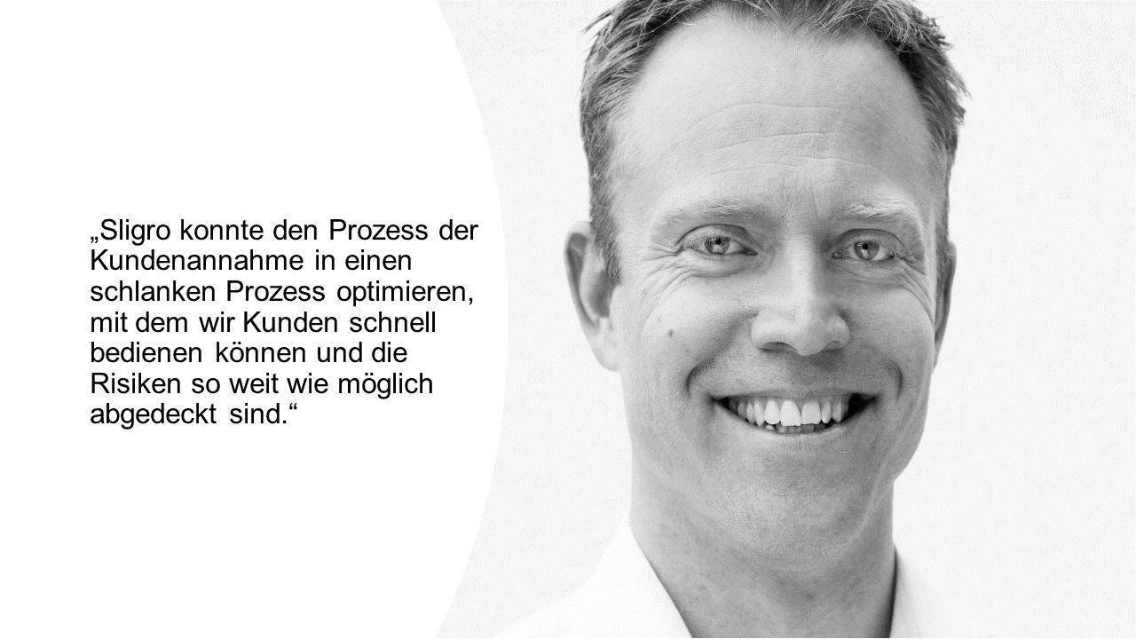 Joris ten Westend - Leiter Debitorenbuchhaltung - Sligro Food Group