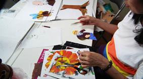 本日の絵本塾の授業風景の画像