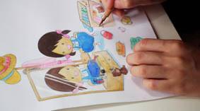 絵本アドバイスの授業風景の画像