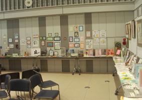 手づくり絵本サークルの展示会