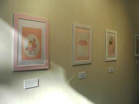 上野の二人展の画像