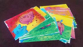 ab-絵本創作塾の創作研究コースの絵本原画